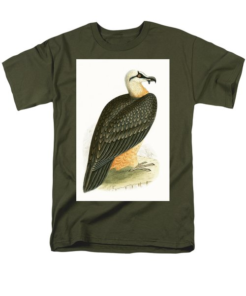 Bearded Vulture Men's T-Shirt  (Regular Fit) by English School
