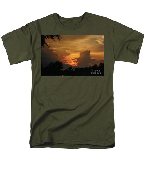 Beautiful Sunset Men's T-Shirt  (Regular Fit) by Debra Crank