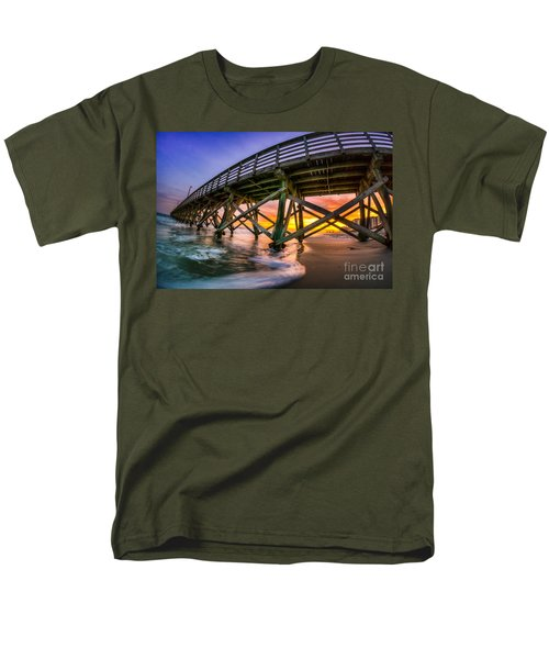 Beautiful Sunset In Myrtle Beach Men's T-Shirt  (Regular Fit) by David Smith