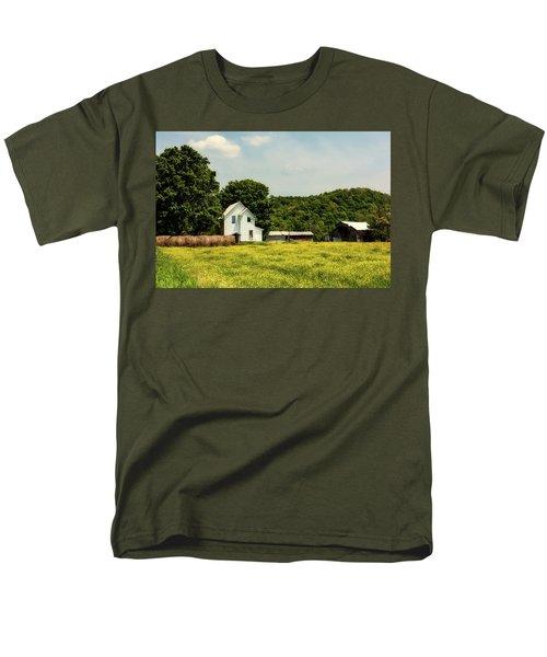 Beautiful West Virginia Men's T-Shirt  (Regular Fit) by L O C