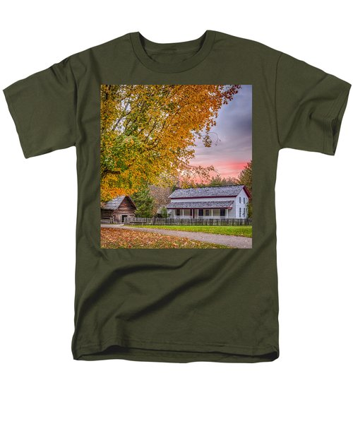 Men's T-Shirt  (Regular Fit) featuring the photograph Becky Cabel House by Tyson and Kathy Smith
