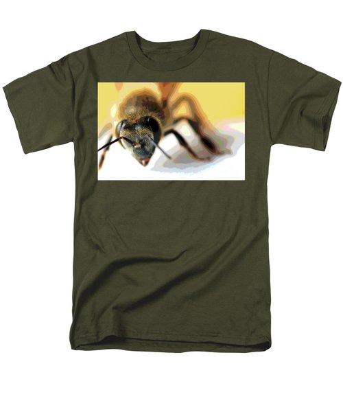 Bee In Macro 5 Men's T-Shirt  (Regular Fit) by Micah May