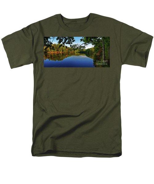 Beginning To Look Like Fall Men's T-Shirt  (Regular Fit) by Paul Mashburn