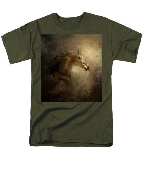 Men's T-Shirt  (Regular Fit) featuring the photograph Behind Broken Mirror by Dorota Kudyba