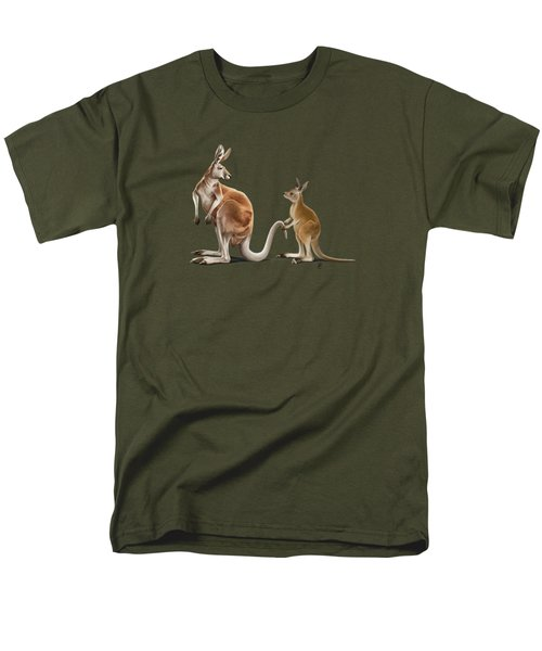 Being Tailed Wordless Men's T-Shirt  (Regular Fit) by Rob Snow