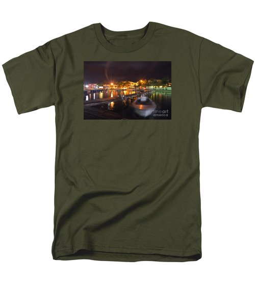 Men's T-Shirt  (Regular Fit) featuring the photograph Belizean Night  by Yuri Santin