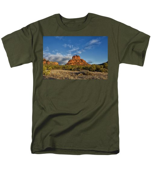Men's T-Shirt  (Regular Fit) featuring the photograph Bell Rock Beams by Tom Kelly