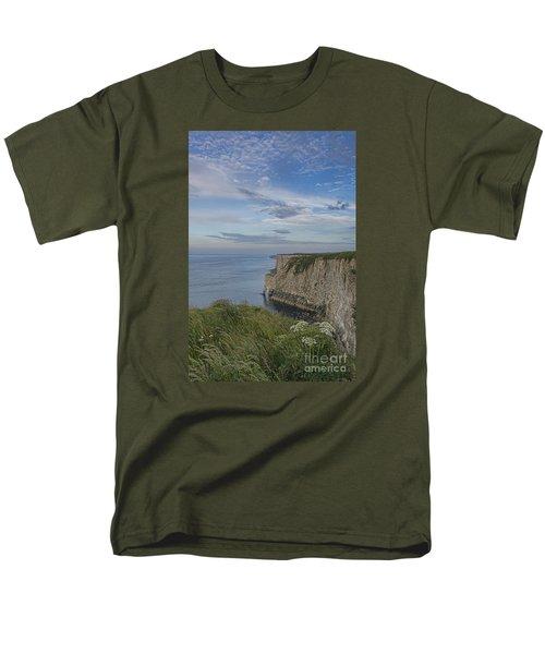 Bempton View Men's T-Shirt  (Regular Fit) by David  Hollingworth