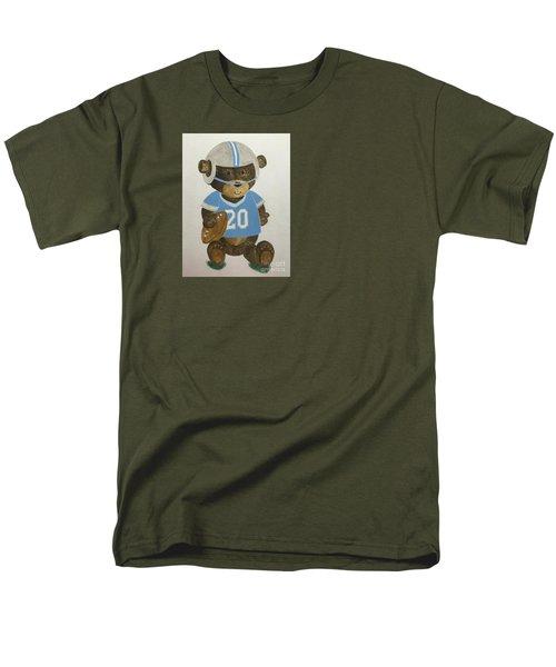 Men's T-Shirt  (Regular Fit) featuring the painting Benny Bear Football by Tamir Barkan