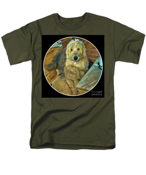 Bentley With His Baby Men's T-Shirt  (Regular Fit) by Jodie Marie Anne Richardson Traugott          aka jm-ART