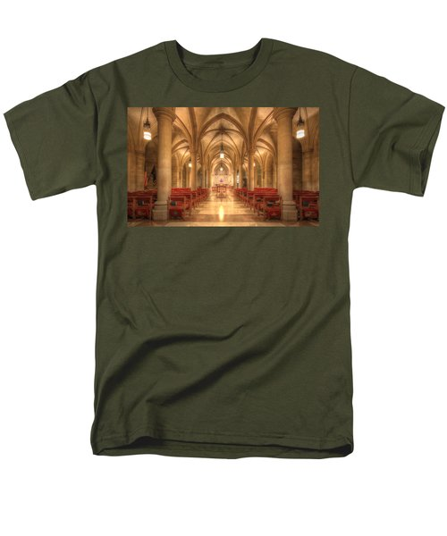 Bethlehem Chapel Washington National Cathedral Men's T-Shirt  (Regular Fit) by Shelley Neff