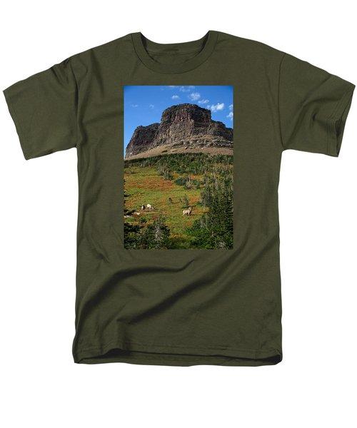 Big Horn Sheep Men's T-Shirt  (Regular Fit)