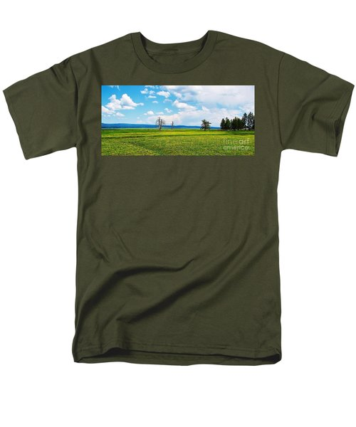 Big Summit Prairie In Bloom Men's T-Shirt  (Regular Fit) by Michele Penner