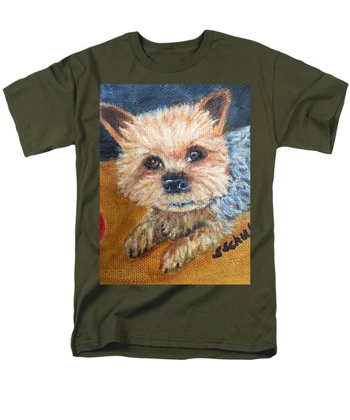 Men's T-Shirt  (Regular Fit) featuring the painting Billy by Sharon Schultz