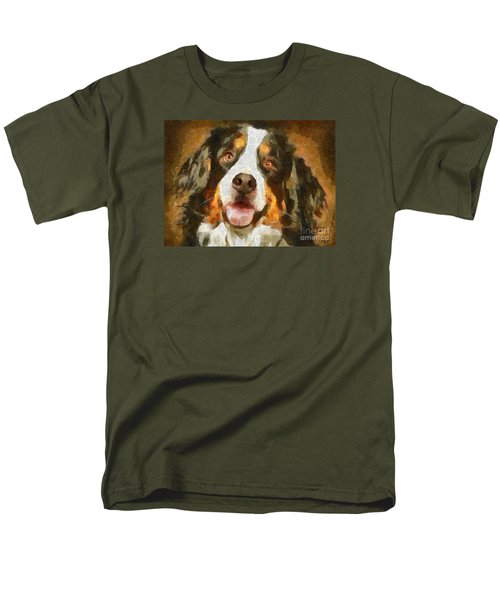 Bimbo - Bernese Mountain Dog Men's T-Shirt  (Regular Fit)