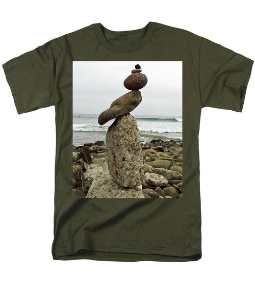 Bird Rock Art Men's T-Shirt  (Regular Fit) by Joe  Palermo
