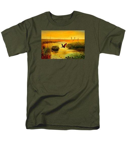 Bird Water Men's T-Shirt  (Regular Fit) by Henryk Gorecki