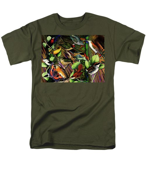 Birdland Men's T-Shirt  (Regular Fit) by Joseph Mosley