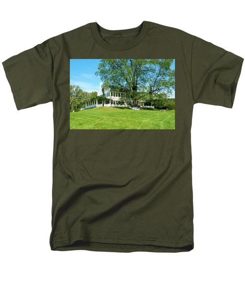 Men's T-Shirt  (Regular Fit) featuring the photograph Bit O Nh History by Greg Fortier