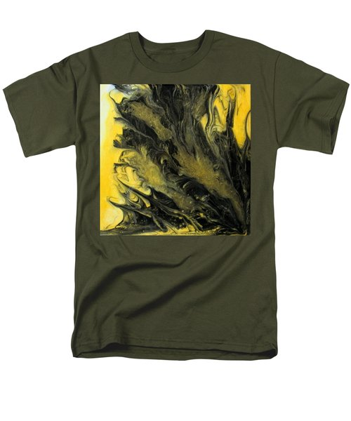 Black Dahlia Men's T-Shirt  (Regular Fit) by Mary Kay Holladay