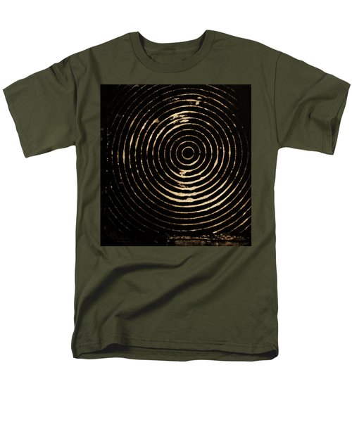 Bleached Circles Men's T-Shirt  (Regular Fit) by Cynthia Powell