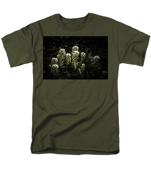 Men's T-Shirt  (Regular Fit) featuring the photograph Blooming In The Shadows by Marco Oliveira