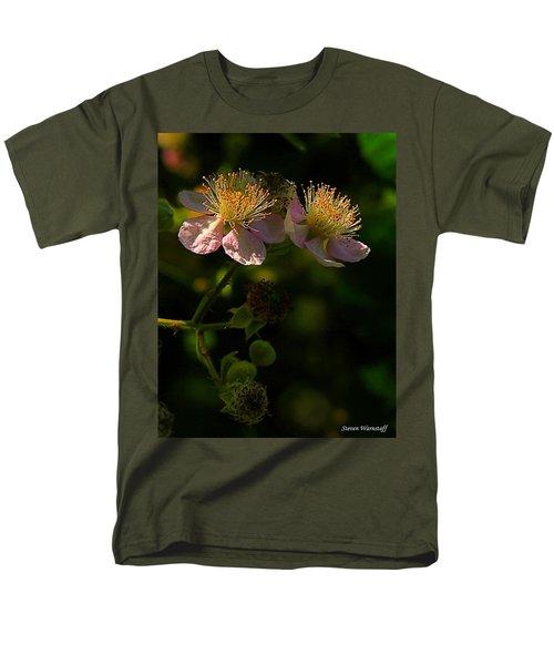 Blossoms 3 Men's T-Shirt  (Regular Fit) by Steve Warnstaff