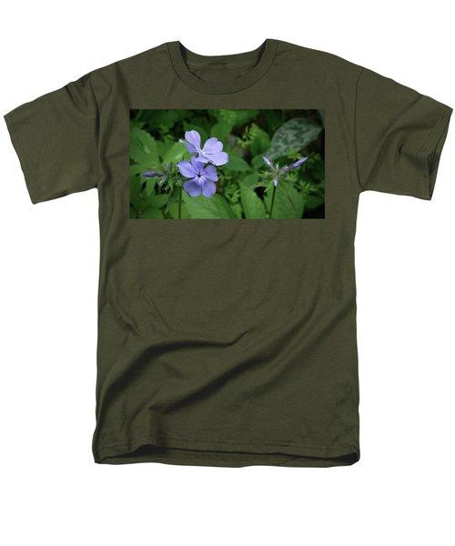 Blue Phlox Men's T-Shirt  (Regular Fit) by Tim Good