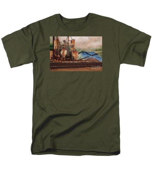 Blue Salt Men's T-Shirt  (Regular Fit) by David Blank
