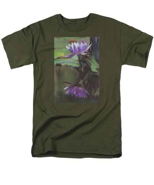 Blush Of Purple Men's T-Shirt  (Regular Fit) by Suzanne Gaff
