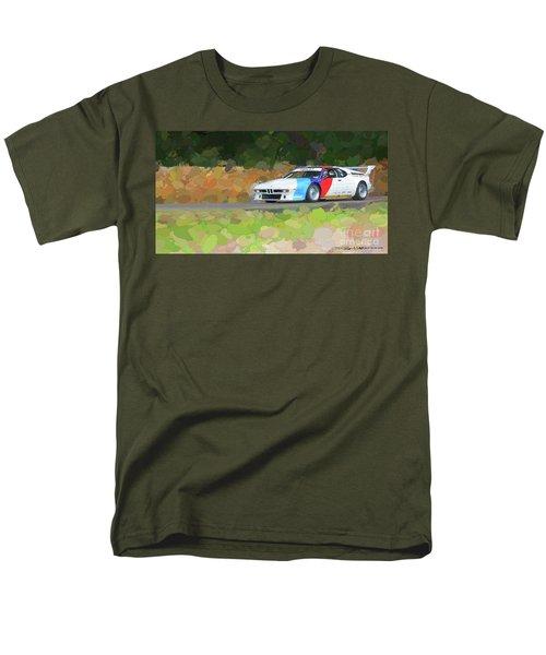 Bmw M1 Men's T-Shirt  (Regular Fit) by Roger Lighterness