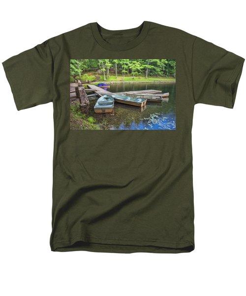 Boley Lake Men's T-Shirt  (Regular Fit)