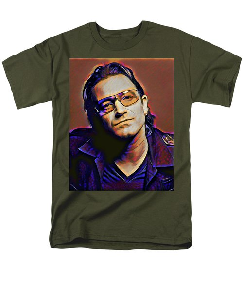 Bono Men's T-Shirt  (Regular Fit)
