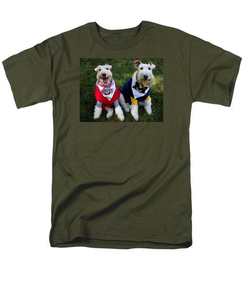 Border Battle Men's T-Shirt  (Regular Fit) by Michiale Schneider