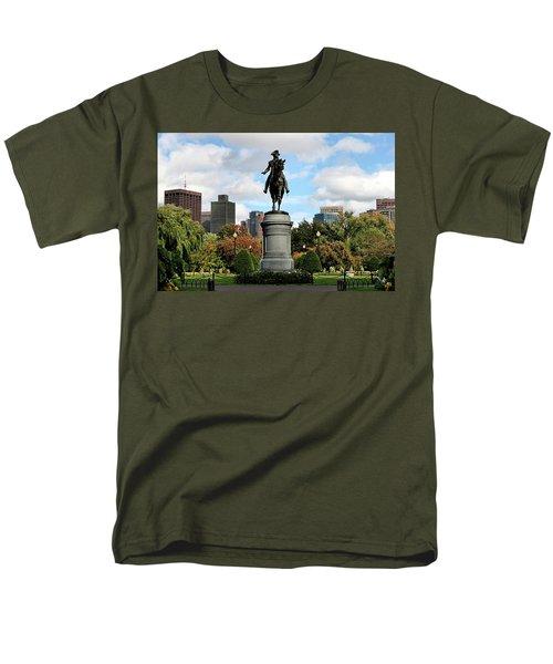 Boston Common Men's T-Shirt  (Regular Fit) by DJ Florek