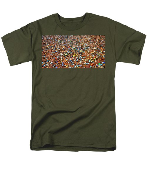 Bottlecap Alley Men's T-Shirt  (Regular Fit) by David Morefield