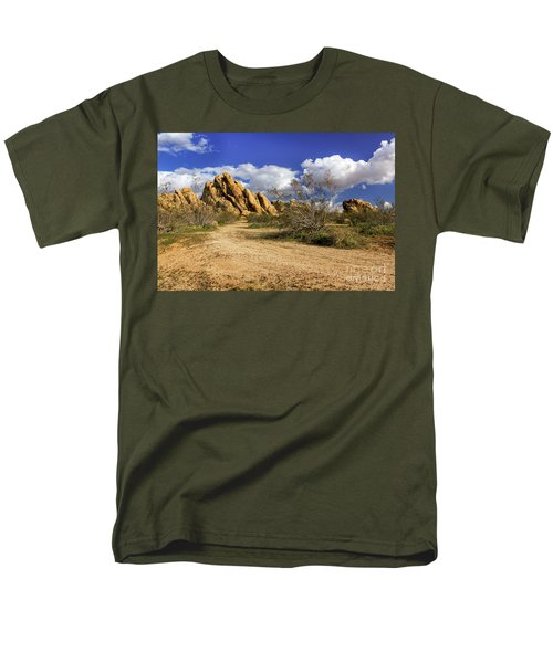Boulders At Apple Valley Men's T-Shirt  (Regular Fit) by James Eddy