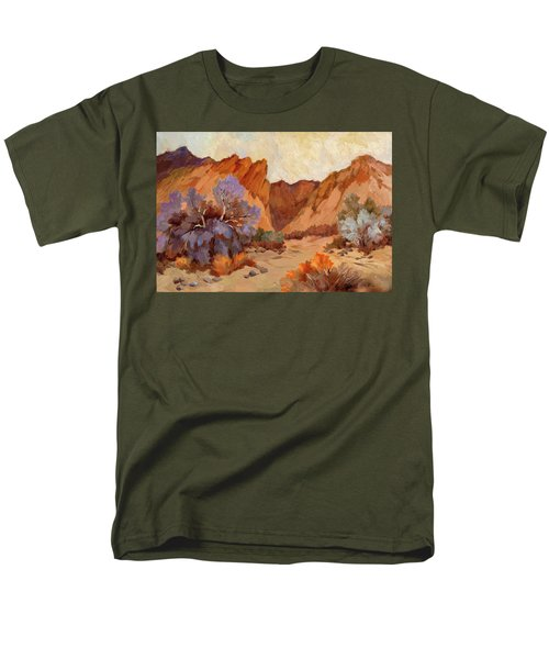 Box Canyon Men's T-Shirt  (Regular Fit) by Diane McClary