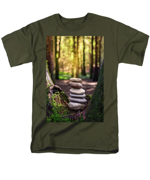 Men's T-Shirt  (Regular Fit) featuring the photograph Brand New Day by Marco Oliveira