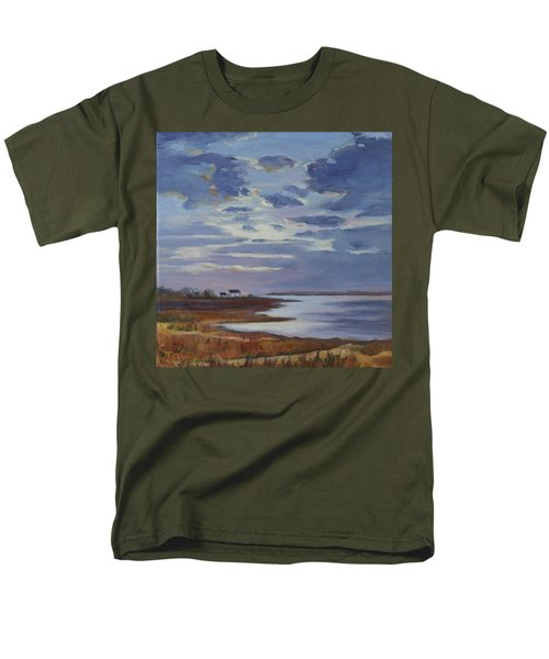 Breaking Up The Clouds Men's T-Shirt  (Regular Fit) by Trina Teele