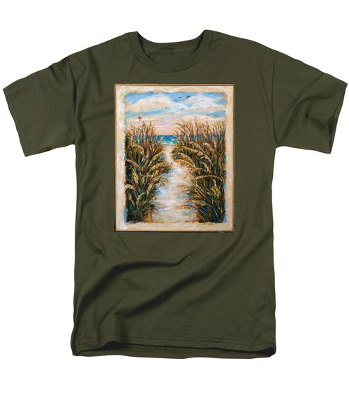 Breezy Sea Oats Men's T-Shirt  (Regular Fit)