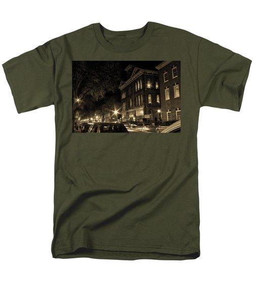 Men's T-Shirt  (Regular Fit) featuring the photograph Market Street by Robert Geary