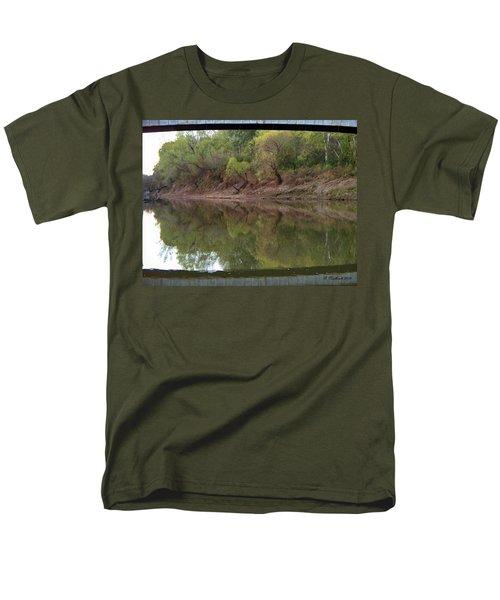 Men's T-Shirt  (Regular Fit) featuring the photograph Bridge Frame by Betty Northcutt