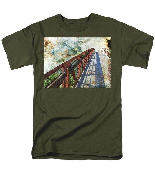 Bridge Over Clouds Men's T-Shirt  (Regular Fit) by Deborah Nakano