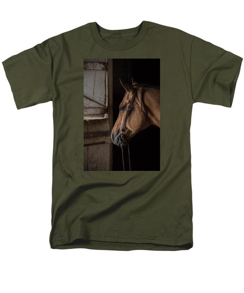 Bridled Men's T-Shirt  (Regular Fit)