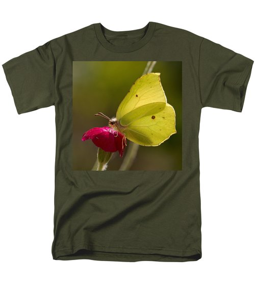 Men's T-Shirt  (Regular Fit) featuring the photograph Brimstone 2 by Jouko Lehto