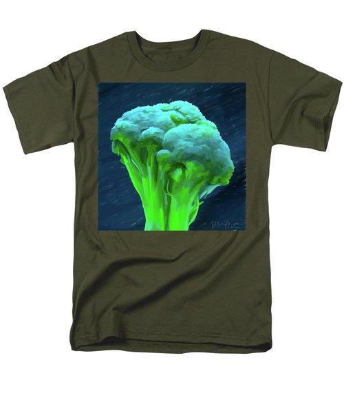 Broccoli 01 Men's T-Shirt  (Regular Fit) by Wally Hampton
