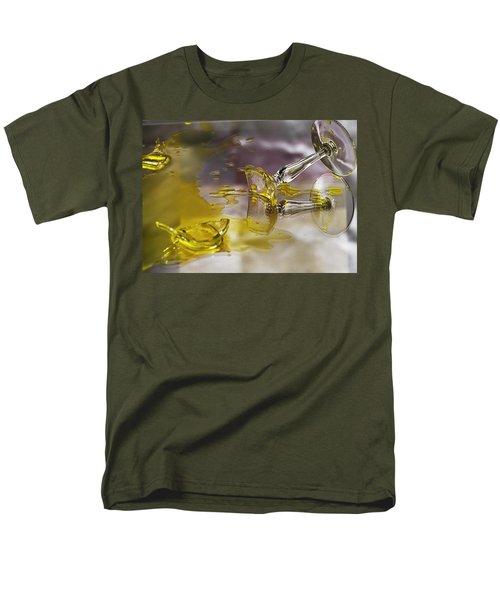 Men's T-Shirt  (Regular Fit) featuring the photograph Broken Glass by Susan Capuano