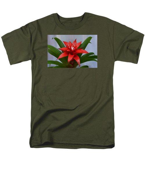 Bromeliad Men's T-Shirt  (Regular Fit) by Terence Davis