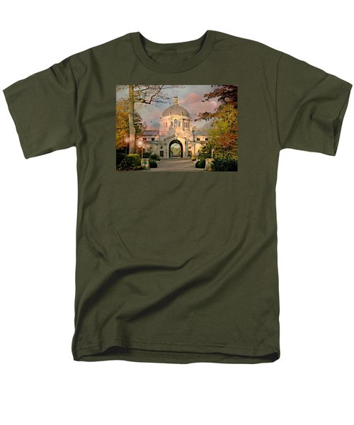 Bronx Zoo Entrance Men's T-Shirt  (Regular Fit) by Diana Angstadt